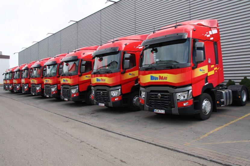 Nowe ciągniki Budmat Transport