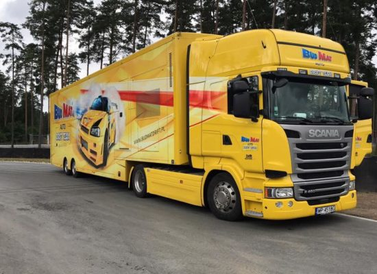 Scania Budmat Transport Drift