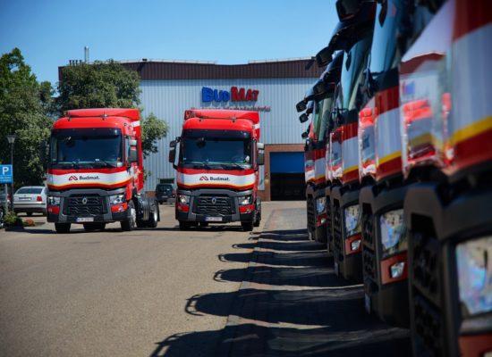 Budmat Transport powiększa flotę pojazdów